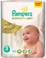 Подгузники Pampers Premium Care Midi 5-9 кг 80 шт. (3)