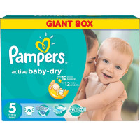 Подгузники Pampers Active Baby Junior 11-18 кг  78 шт. (5)