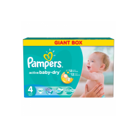 Подгузники Pampers Active Baby Maxi 7-14 кг 90 шт. (4)