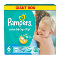 Подгузники Pampers Active Baby Extra Large 15+ кг 66 шт. (6)