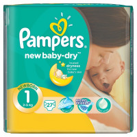 Подгузники Pampers New Baby  2-5 кг 27 шт. (1)