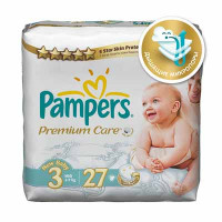Подгузники Pampers Premium Care Midi 4-9 кг 27 шт. (3)