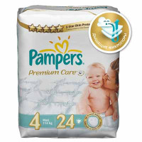 Подгузники Pampers Premium Care Maxi 7-14 кг 24 шт. (4)