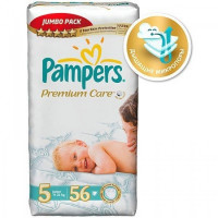 Подгузники Pampers Premium Care Maxi 7-14 кг 56 шт. (4)
