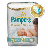 Подгузники Pampers Premium Care Junior 11-25 кг 21 шт. (5)