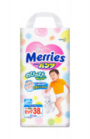 Трусики Merries Walker (12-22кг) 38шт
