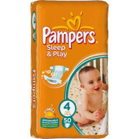 Подгузники Pampers Sleep & Play Maxi 7-14 кг 14 шт. (4)